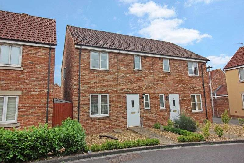 3 Bedrooms Semi Detached House for sale in Malin Parade, Portishead
