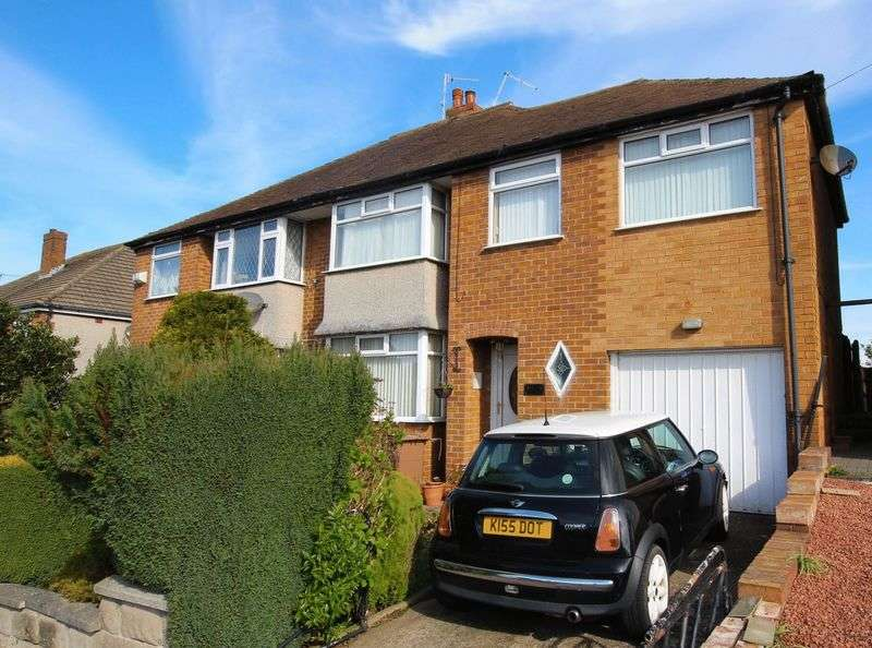 4 Bedrooms Semi Detached House for sale in Thorstone Drive, Irby