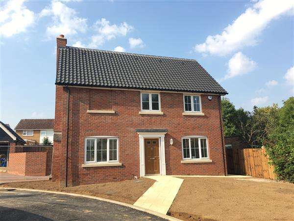 4 Bedrooms Detached House for sale in Plot C, Angel Place, Bramford, Ipswich