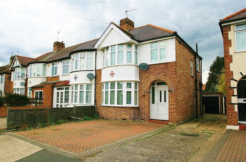 3 Bedrooms End Of Terrace House for sale in Glamis Crescent, South Hayes