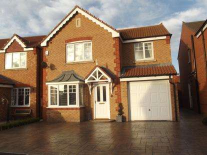 4 Bedrooms Detached House for sale in Cottingham Grove, Thornley, Durham, DH6