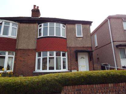 3 Bedrooms Semi Detached House for sale in Fourth Avenue, Flint, Flintshire, CH6