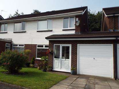 3 Bedrooms Semi Detached House for sale in Plane Tree Close, Marple, Stockport, Cheshire
