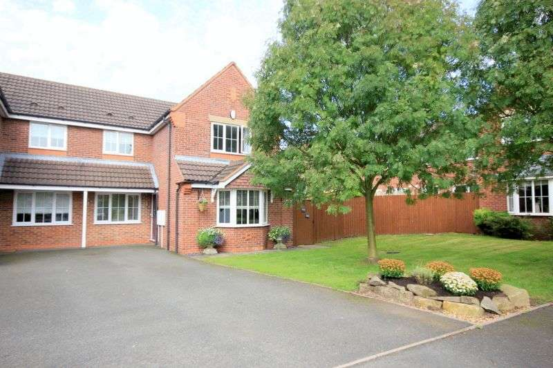 3 Bedrooms Semi Detached House for sale in Dixon Close, Stone