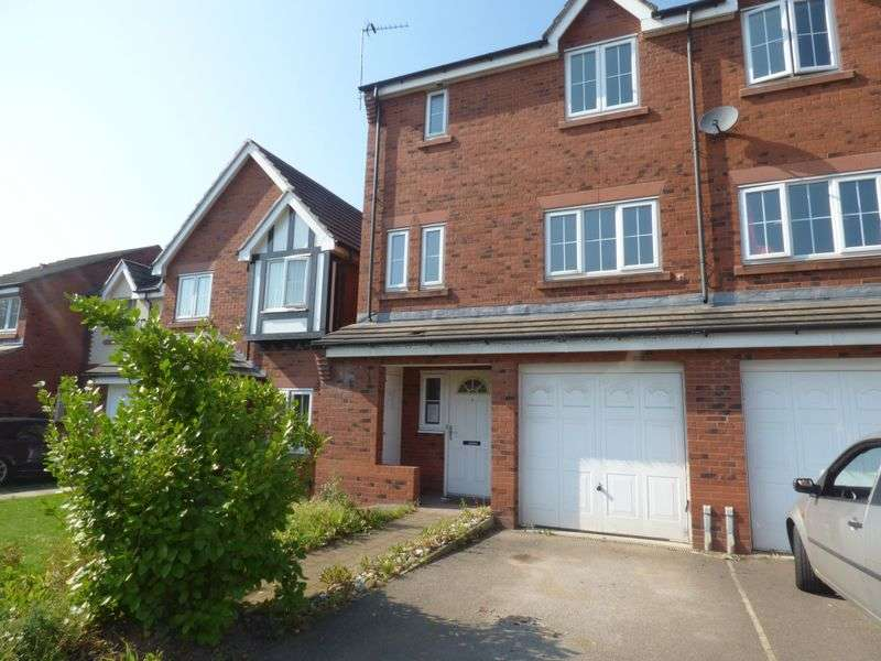 4 Bedrooms Semi Detached House for sale in Thorneycroft Drive, Warrington