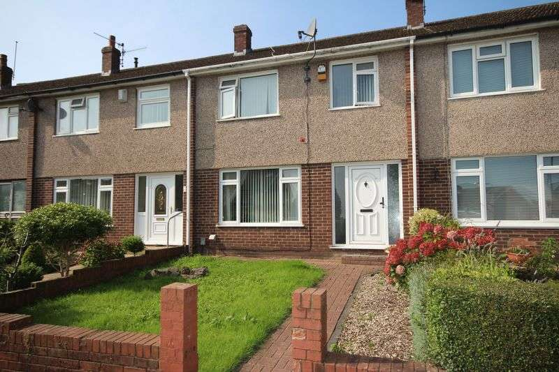 3 Bedrooms Terraced House for sale in Glandovey Grove, Rumney