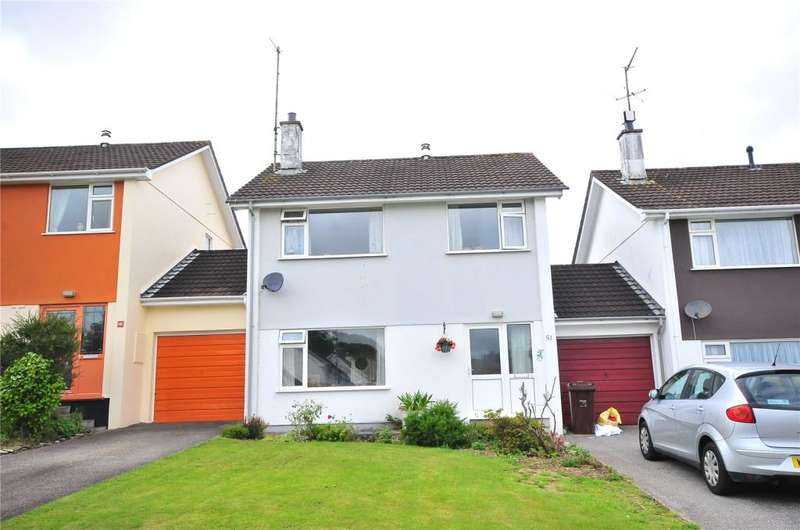 3 Bedrooms Link Detached House for sale in Bosvean Gardens, Truro