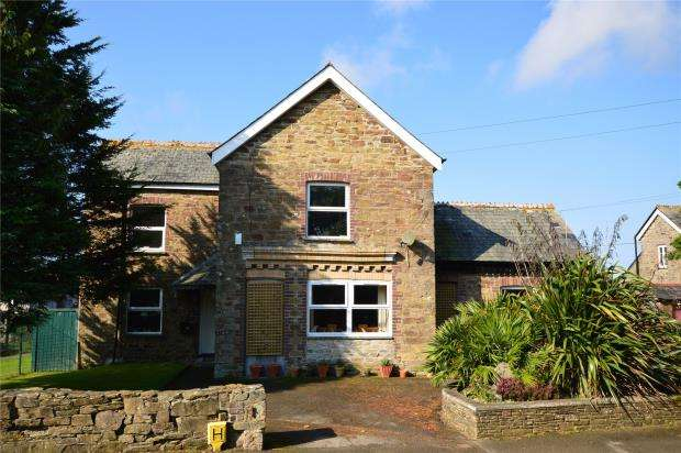 4 Bedrooms Detached House for sale in Playing Field Terrace, Duloe, Liskeard, Cornwall