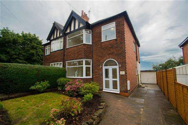 3 Bedrooms Semi Detached House for sale in Perry Road, Sherwood, Nottingham