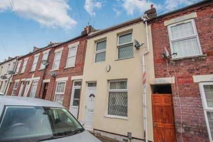2 Bedrooms Terraced House for sale in Hampton Road, Luton, Bedfordshire