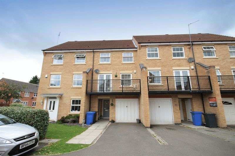 4 Bedrooms Terraced House for sale in Avalon Drive, Derby