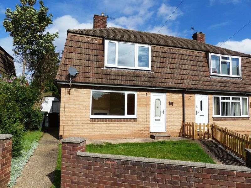 3 Bedrooms Semi Detached House for sale in Broxholme Gardens, Lincoln