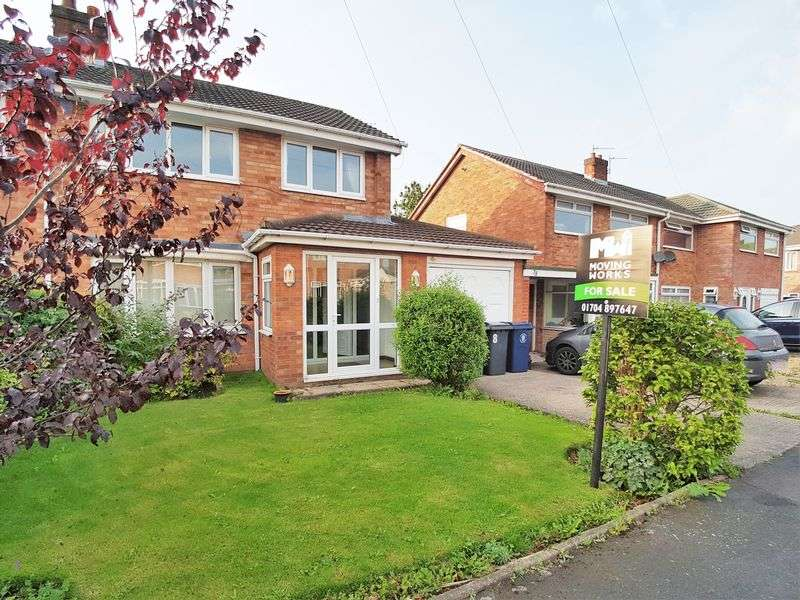 3 Bedrooms Semi Detached House for sale in Rivington Drive, Burscough, Ormskirk