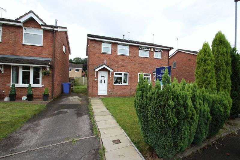 2 Bedrooms Semi Detached House for sale in Cardigan Grove, Trentham,