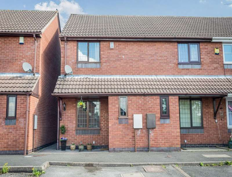 2 Bedrooms Property for sale in Jade Court, Meir Hay, Stoke-On-Trent, ST3