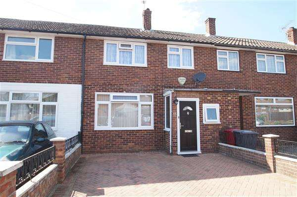 2 Bedrooms Terraced House for sale in Travic Road, Slough