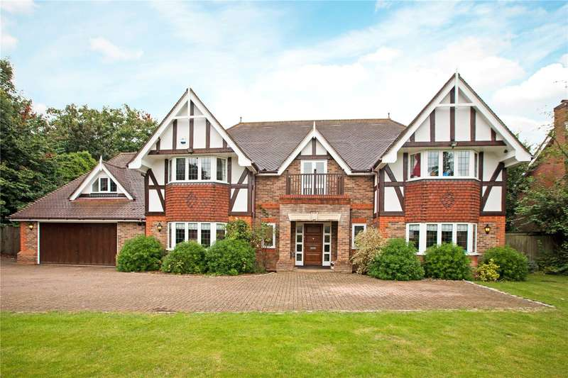 6 Bedrooms Detached House for sale in Sandisplatt Road, Maidenhead, Berkshire, SL6