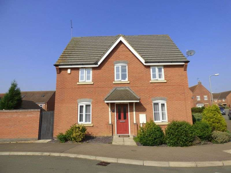 3 Bedrooms Terraced House for sale in Robinson Way, Northampton