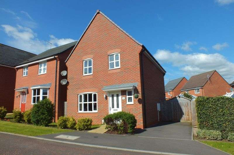 3 Bedrooms Detached House for sale in Rushall View, Stoke-On-Trent