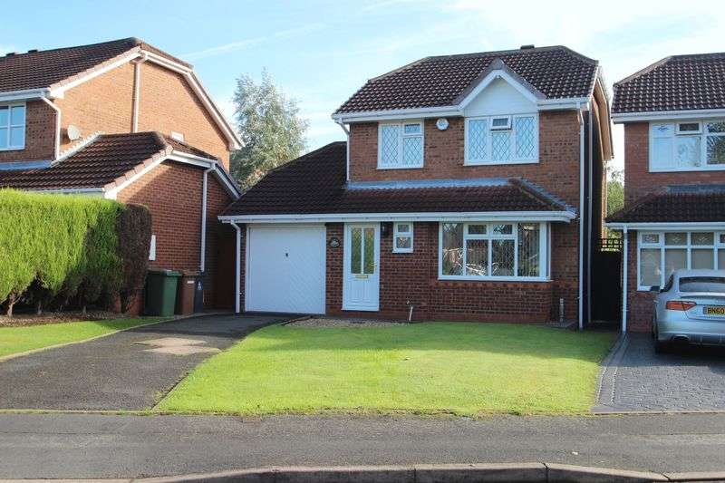 3 Bedrooms Detached House for sale in Snowdon Way, Coppice Farm, Willenhall