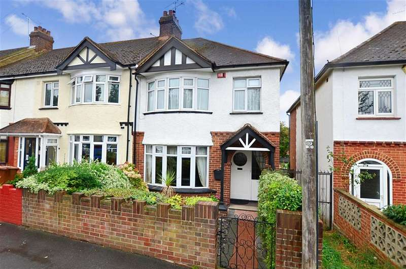 4 Bedrooms End Of Terrace House for sale in Featherby Road, Gillingham, Kent