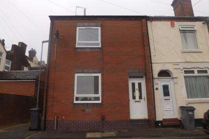 2 Bedrooms Terraced House for sale in Riley Street North, Burslem, Stoke On Trent, Staffordshire