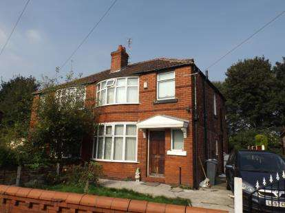 3 Bedrooms Semi Detached House for sale in Mornington Crescent, Manchester, Greater Manchester, Fallowfield