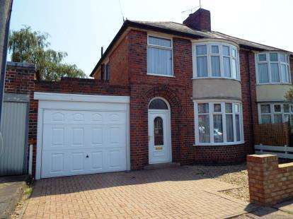 3 Bedrooms Semi Detached House for sale in Brinsmead Road, Knighton, Leicester, Leicestershire