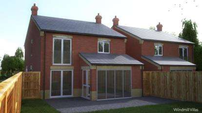 4 Bedrooms Detached House for sale in Windmill Villas, Wesh Road East, Southam, Warwickshire