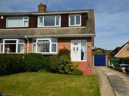 3 Bedrooms Semi Detached House for sale in Sough Hall Avenue, Thorpe Hesley, Rotherham, South Yorkshire