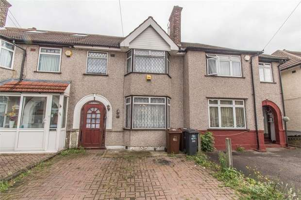 3 Bedrooms Terraced House for sale in Review Road, DAGENHAM, Essex