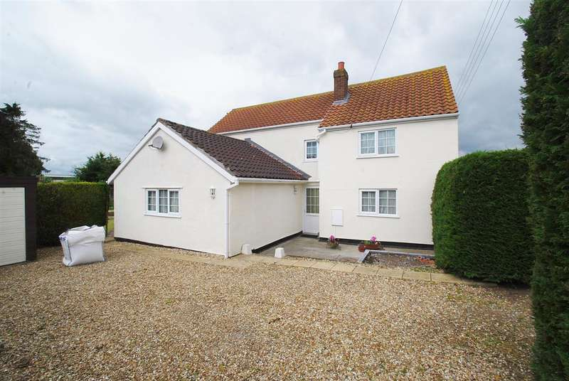 4 Bedrooms Detached House for sale in Shamrock Cottage, Eaudyke Road, Friskney