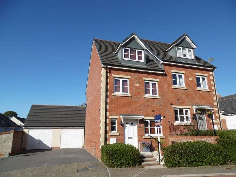 3 Bedrooms Semi Detached House for sale in Maes Yr Eos Coity Bridgend CF35 6DJ