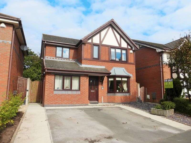 3 Bedrooms Detached House for sale in Meadoway, Tarleton, Preston