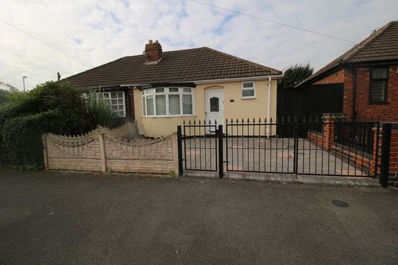 2 Bedrooms Semi Detached Bungalow for sale in Hannah Road, Bilston