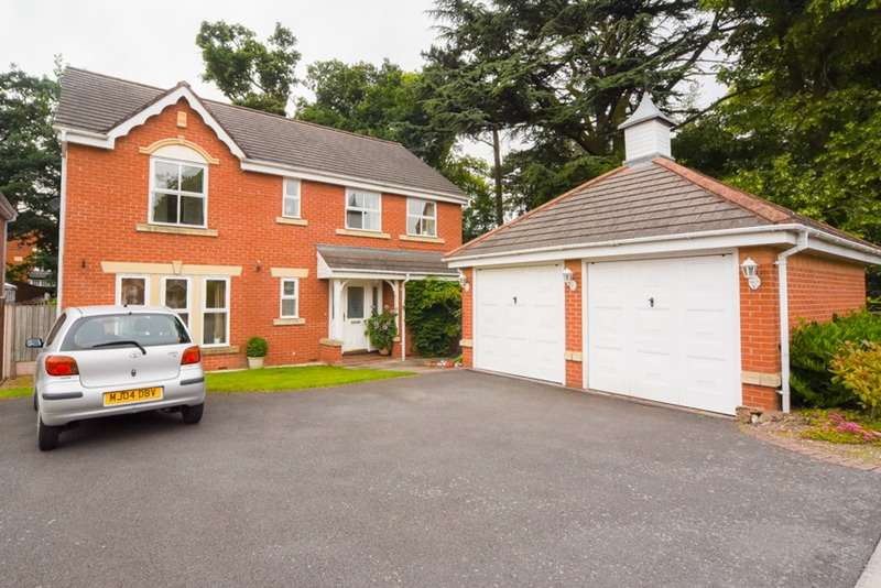 4 Bedrooms Detached House for sale in THE FIRS, SYSTON, LEICESTER, Leicestershire, LE7