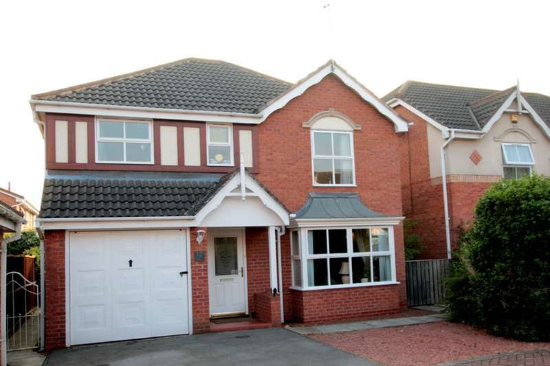 4 Bedrooms Detached House for sale in Harewood Close, York, North Yorkshire, YO30