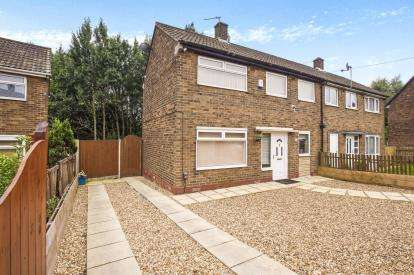 2 Bedrooms Semi Detached House for sale in Ryelands Crescent, Ashton-On-Ribble, Preston, Lancashire, PR2