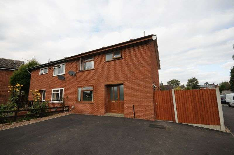 3 Bedrooms Semi Detached House for sale in Beech Drive, Ashbourne