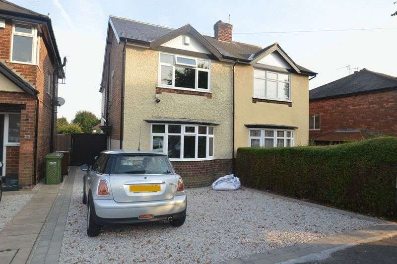2 Bedrooms Semi Detached House for sale in Sandford Road, Nottingham