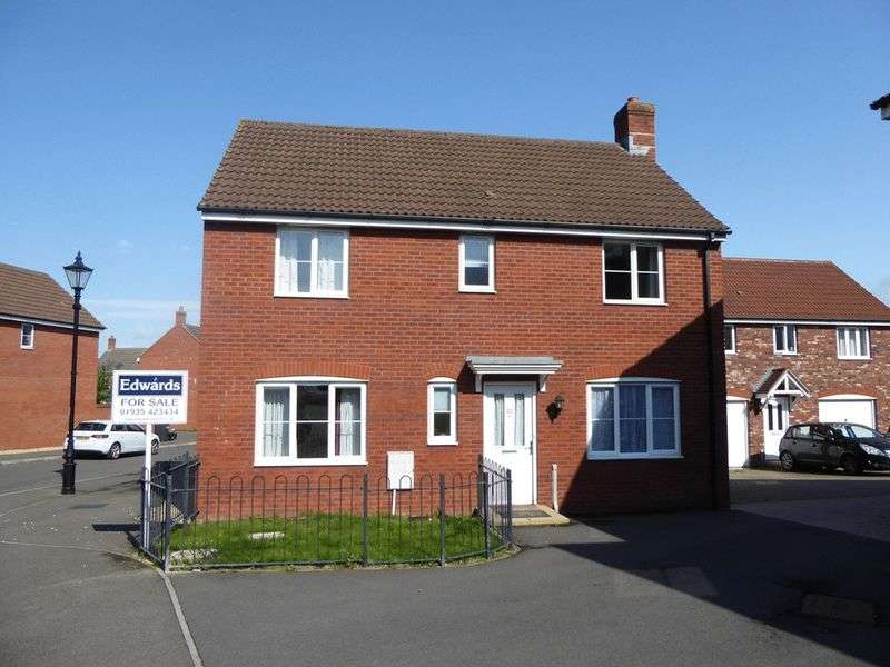 4 Bedrooms Detached House for sale in Merevale Way, Yeovil