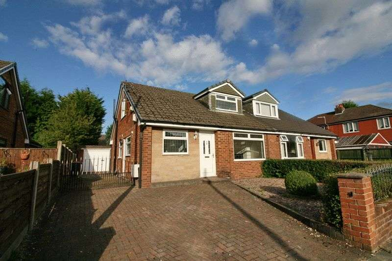 3 Bedrooms Semi Detached House for sale in Darnley Avenue, Worsely Manchester