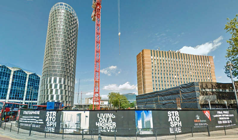 Flat for sale in Stratosphere, Broadway Chamber, Stratford