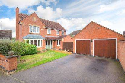 4 Bedrooms Detached House for sale in Croxden Way, Elstow, Bedford, Bedfordshire