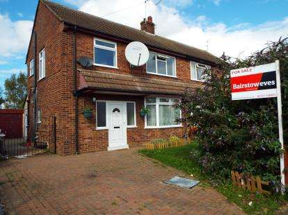 3 Bedrooms Semi Detached House for sale in Francis Gardens, Peterborough, Cambridgeshire