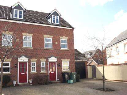 3 Bedrooms End Of Terrace House for sale in Aldergrove, Kingsway, Gloucester, Gloucestershire