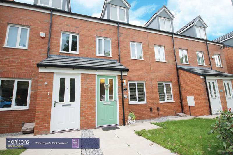 3 Bedrooms Town House for sale in Academy Way, Horwich, Bolton, Lancashire.