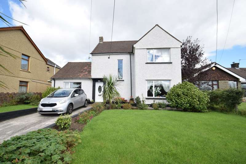3 Bedrooms Detached House for sale in Ty Gwyn, Cefn Road, Cefn Cribwr, Bridgend, Bridgend County Borough, CF32 0AE.
