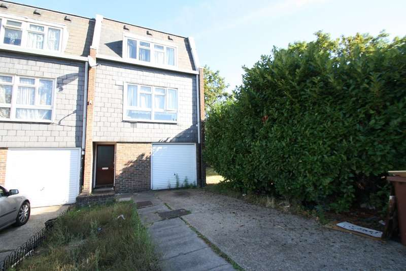 4 Bedrooms End Of Terrace House for sale in Crusader Close, Purfleet