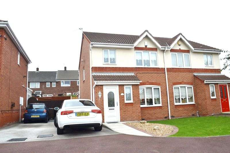 3 Bedrooms Semi Detached House for sale in Caldon Close, Litherland, Liverpool